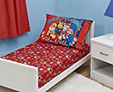 Paw Patrol Toddler Fitted Sheet and Pillow Case Set, Blue