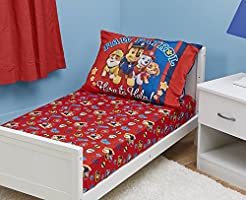 Paw Patrol Toddler Fitted Sheet and Pill...