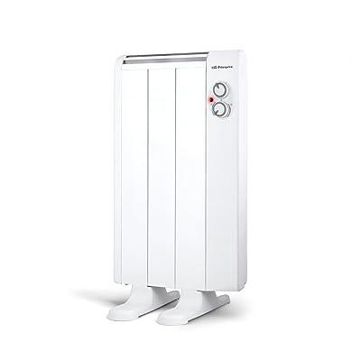 Orbegozo RRM 510 - Emisor térmico seco de bajo consumo, 500 W de potencia, 3 elementos, termostato regulable y cuerpo de aluminio