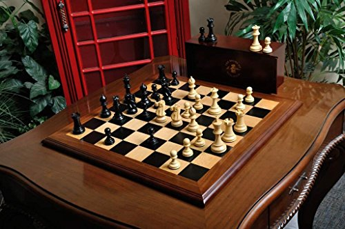 The Superior Grandmaster Chess Set, Box, and Board Combination - by The House of Staunton