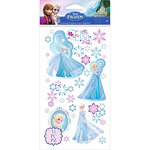 Disney's Frozen Stickers-Elsa & Snowflakes]()