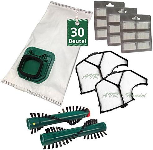 30 Bolsas de aspiradora bolsas bajo Juego con cepillos para ...