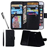 Urvoix for Apple iPhone 6 / 6S (4.7''), Wallet Leather Flip Card Holder Case, 2 in 1 Detachable Magnetic Back Cover iPhone6 / iPhone6S (NOT for 6Plus)