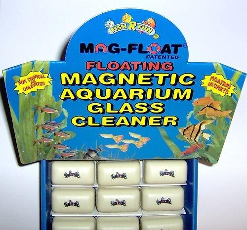 MAG-FLOAT small floating algae magnet aquatic glass cleaner by Angels Aquatics & Pet Supplies