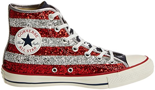 Converse 556818c, Chaussures Multisport Outdoor Femme Multicolore (Stars&Bars Glitter)