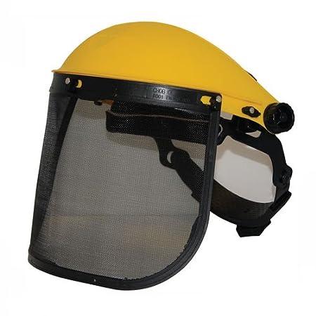 Silverline Visor de protección con malla Malla