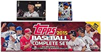2015 Topps MLB Baseball HUGE 705 Card Factory Sealed HOBBY Factory Set with KRIS BRYANT ROOKIE & 5 EXCLUSIVE PARALLEL Cards #/179! PLUS BONUS Cal Ripken Jr. Jumbo Card! Includes all Card Series 1&2!