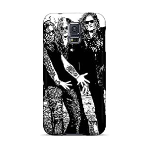 Durable Hard Phone Covers For Samsung Galaxy S5 (bfl8758LeWu) Support Personal Customs Nice Dragonforce Band Series