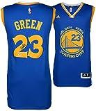 Draymond Green Golden State Warriors Autographed Blue Jersey - PSA/DNA Certified - Autographed NBA Jerseys