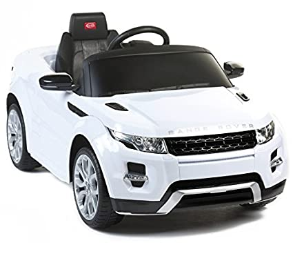 Amazon Com Range Rover Power 12v Electric Car For Kids Ride On