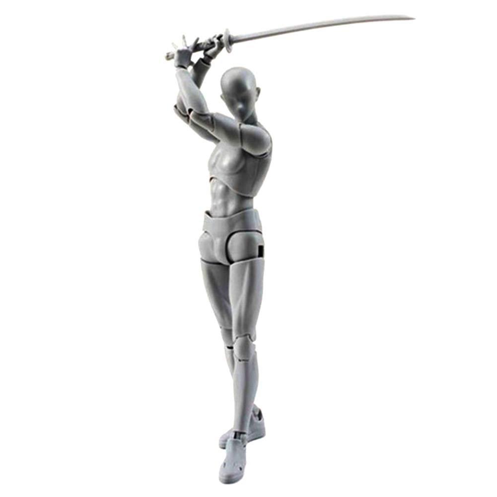 Dxlta Body Chan y Kun Doll Male Female DX Set PVC Movebale Figura de Acci/ón Modelo Para SHF Gifts