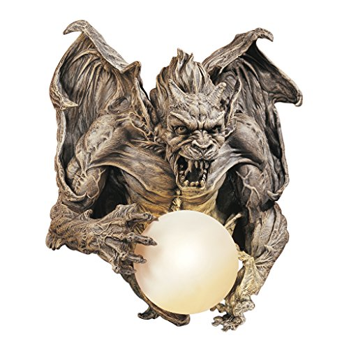 Design Toscano Merciless, the Gargoyle Lighted Wall Sculpture - Halloween wall sculpture