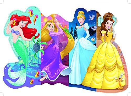 Ravensburger Disney Princess Pretty Princesses Shaped Floor Puzzle 24 Piece Jigsaw Puzzle for Kids - Every Piece is Unique, Pieces Fit Together Perfectly]()
