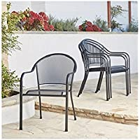 Members Mark Stackable Mesh Chairs, 4-Pack