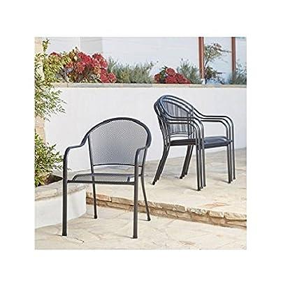 Memberu0027s Mark Stackable Mesh Chairs, ...