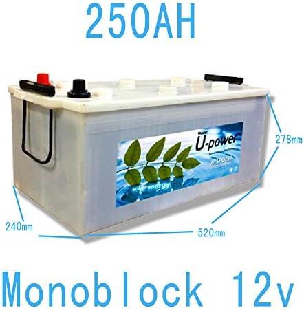 ACIDO PLOMO 250AH 12V Bateria Monoblock