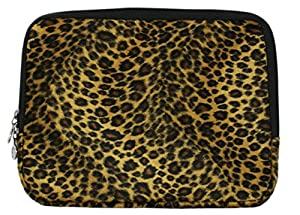 Leopard Animal Print Faux-fur Carrying Case Sleeve for Apple iPad Wifi / 3G 16GB, 32GB, 64GB from MyGift