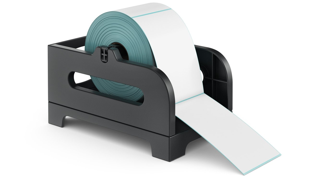 ROLLO Label Holder for Rolls and Fan-Fold Labels by ROLLO