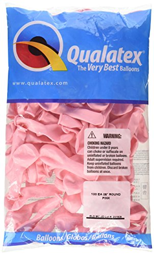 """Qualatex 43575 Pink Latex Balloons, 5"""", Pink, Pack for sale  Delivered anywhere in USA"""