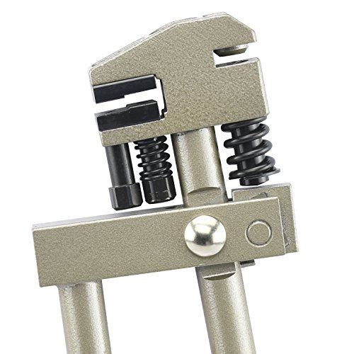 Neiko 40410B Hand Flange Punch and Crimping Tool, Swivel Head | 7/8'' (22mm) Crimp, 15/64'' (6mm) Punch | Punches 18 GA Steel by Neiko (Image #2)