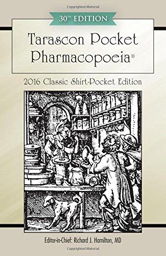 Tarascon Pocket Pharmacopoeia 2016 Classic Shirt-Pocket Edition (Best Drug App For Nurses)