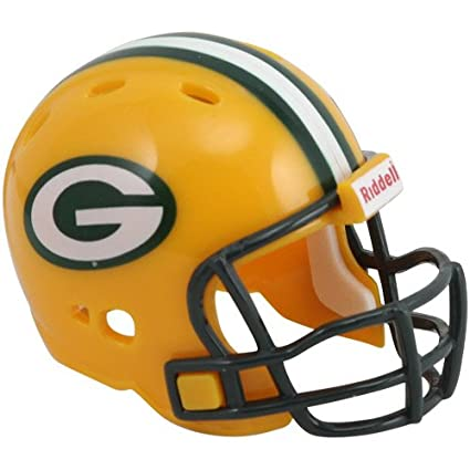 Riddle NFL - Casco de fútbol americano coleccionable, diseño de Green Bay Packers