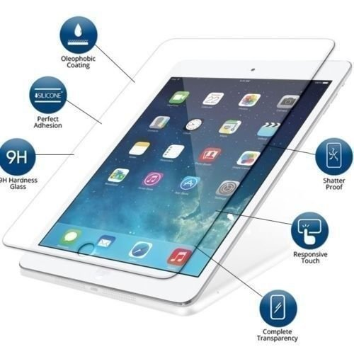 ELICA Tempered Glass for Apple iPad 9.7  2017  Tablet Accessories