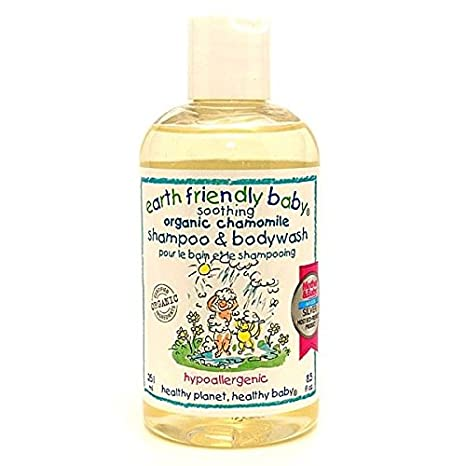 Earth Friendly Baby Children Shampoo & Bodywash Soothing Chamomile Kids 300 ml Ecocert 82106