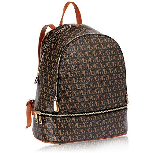 ANNA GRACE - Bolso mochila  para mujer negro