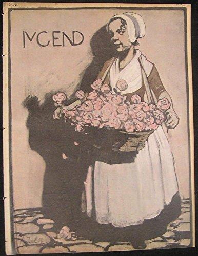 1906 Jugend Art Nouveau Issue 11 jugendstil antique magazine Jank Kubinyi Bing