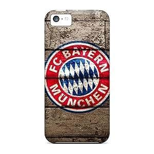 Hard Plastic Iphone 5c Case Back Cover,hot Fc Bayern Munich Case At Perfect Diy