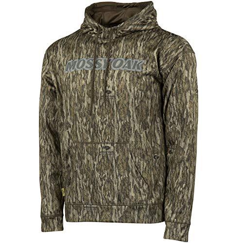- Mossy Oak Men's Camo Performance Fleece Brand Hoodie Pullover in Multiple Patterns
