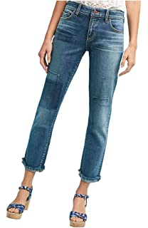 87915353e2e3 Anthropologie Pilcro Mid-Rise Slim Boyfriend Jeans Embroidered $158 ...