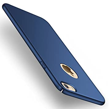 Funda iPhone 7, Joyguard iPhone 7 Carcasa [Ultra-Delgado] [Ligera] Anti-rasguños Estuche para Case iPhone 7-4.7 Pulgada - Azul Profundo
