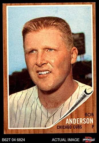 (1962 Topps # 557 Bob Anderson Chicago Cubs (Baseball Card) Dean's Cards 7 - NM Cubs )