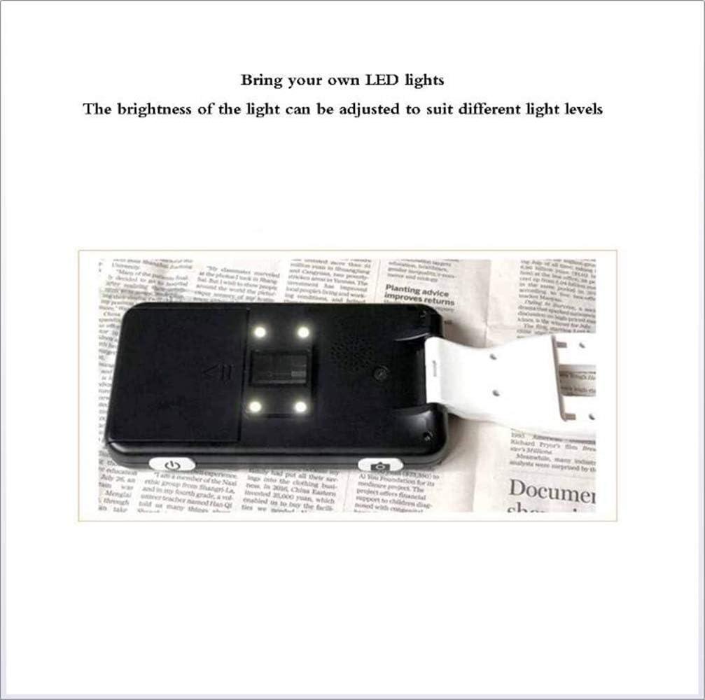 XHLLX Seite Lupe Leselupe Elektronische Lesehilfe 5,0 Zoll W//Faltbare Griff F/ür Low Vision Farbenblindheit 2X-32X-Fach Zoom 19 Farbmodi