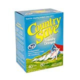 Natural Laundry Soap HE, Dye Free Laundry Detergent Cold or Warm Water - Unscented Laundry Powder Soap Free and Clear, Gentle for Sensitive Skin - Country Save Laundry Detergent, 5 lbs (80 oz)