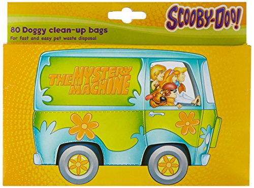 Scooby Doo Doggy Clean-Up Bags, 80 Count