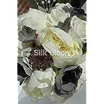 Silk-Blooms-Ltd-Stunning-Rounded-Bridal-Bouquet-Ivory-Ranunculus-Grey-Freesia