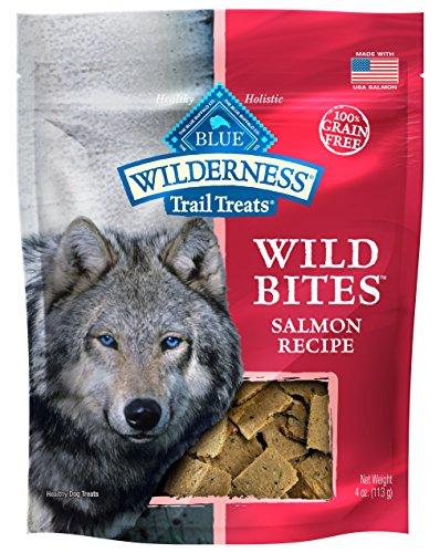 Blue Wilderness Grain-Free Wild Bites Salmon Treats, 4 Oz (8 Pack)