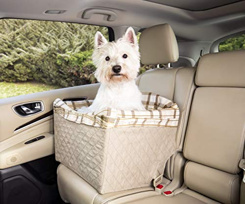 PetSafe Jumbo Deluxe Pet Safety Seat - Car Booster Seat for Dogs up to 35 lb.