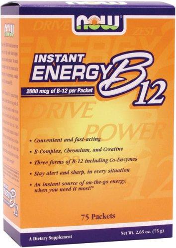 NOW Foods B-12 de l'énergie instantanée paquets 75/Box