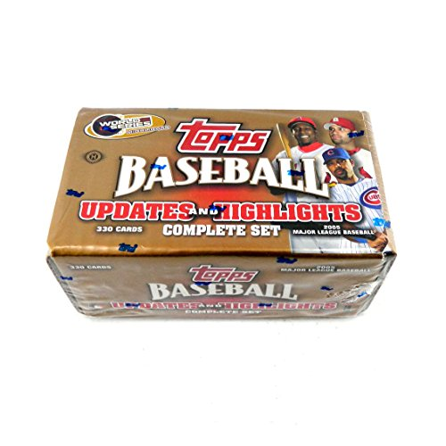 - 2005 Topps Baseball Updates and Highlights Factory Sealed Set McCutchen Rookie