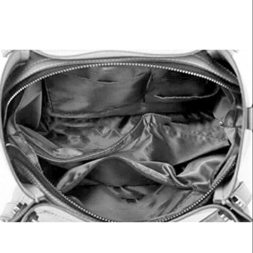 Clutches Women Handbag Leather Black Women's Bags Shoulder Shoulder Tote Bags Bag Bag Women Bag Handbags Bag Shopping Fashion nwwBSZXq5x