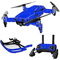 MightySkins Skin for DJI Mavic Air Drone - Blue Bandana   Max Combo Protective, Durable, and Unique Vinyl Decal wrap cover   Easy To Apply, Remove, and Change Styles   Made in the USA