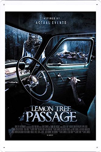 Tin Poster Movie Film Sign 8 X12  Lemon Tree Passage Produced By Petpetpet