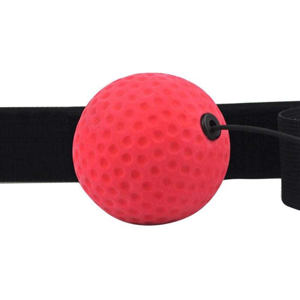 ZPALLASD Improve Reaction Hand-Eye Training Boxing Speed Ball Reaction Ball Exercise Fitness Equipment