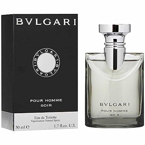 Bvlgari Pour Homme Soir By Bvlgari For Men, Eau De Toilette Spray, 1.7-Ounce Bottle