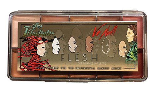 Skin Illustrator Ve Neill Flesh Detaiuling Palette by Skin Illustrator