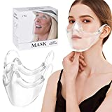 【2 PACK】Clarity Face_Shield for Adult, Clarity